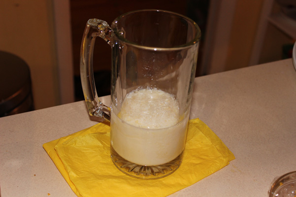 lemon juice and milk