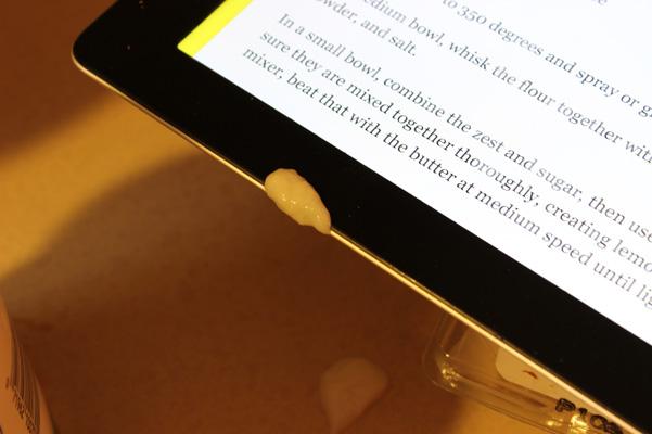 batter on iPad