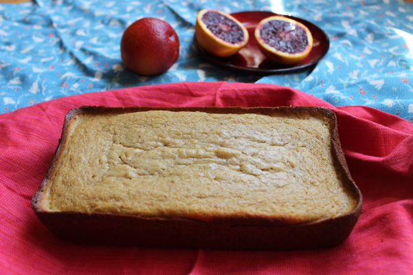 blood orange yogurt pound cake