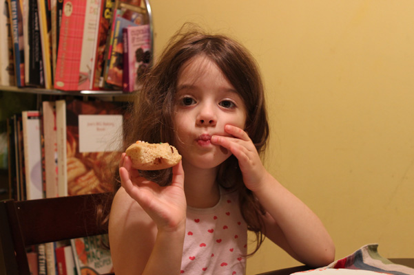 Juliet with donut