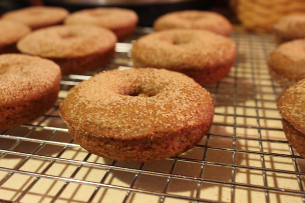 donuts with topping