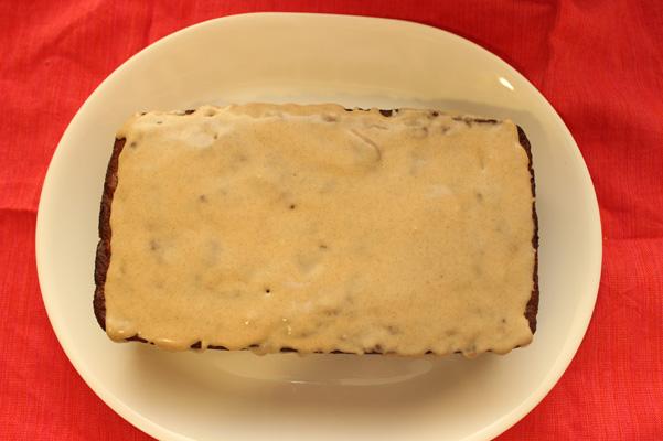 bread with glaze