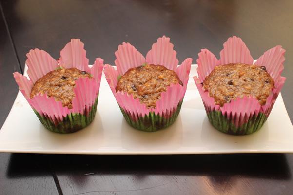 flower muffins