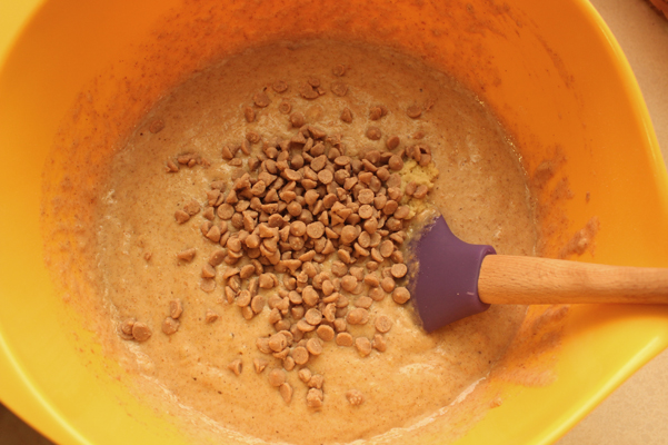 adding cinnamon chips and fresh ginger
