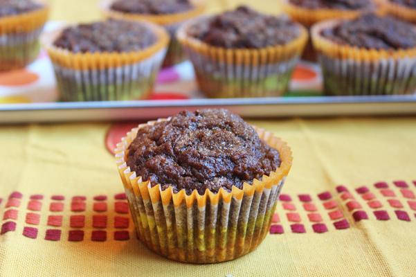 Espresso Spice Pumpkin Muffins