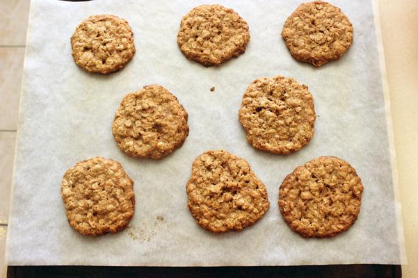 8 cookies on sheet