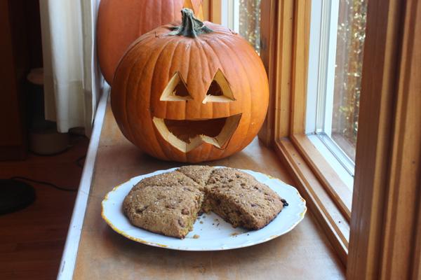 scones with pumpkin