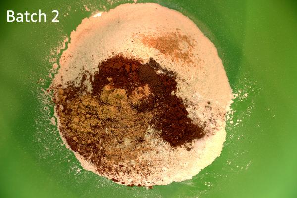 dry ingredients, batch 2