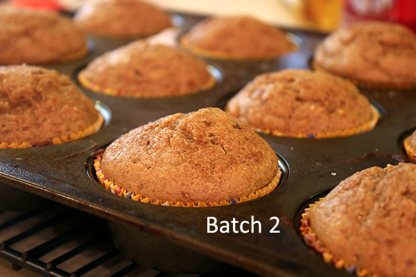batch two, out of the oven