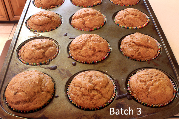 batch three, out of the oven