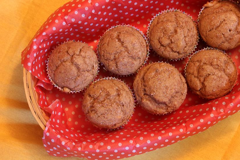 blood orange spice muffins