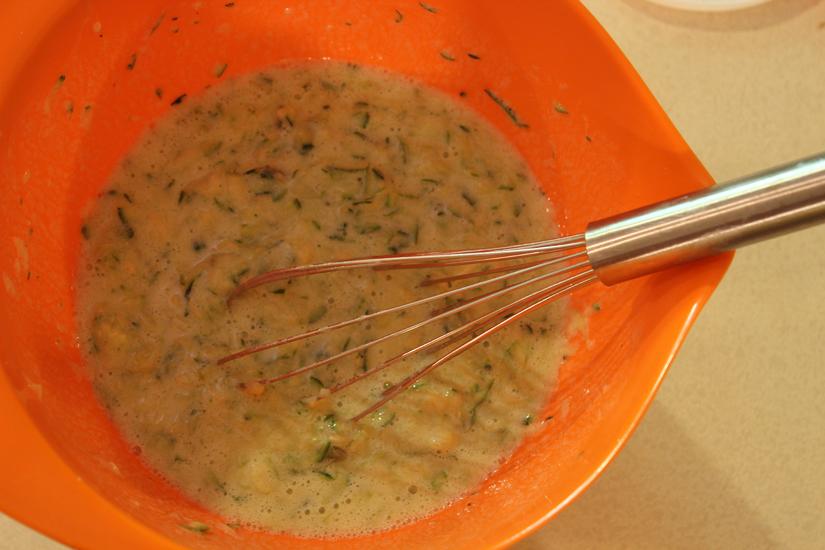 zucchini mixture